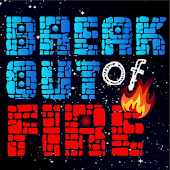 Breakout of fire - Simple game