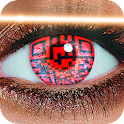 Eyes QR code Scanner simulator icon