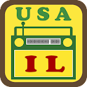 USA Illinois Radio icon