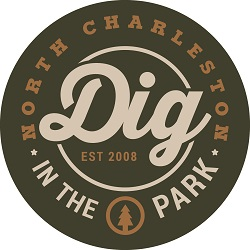 Logo for DIG in the Park