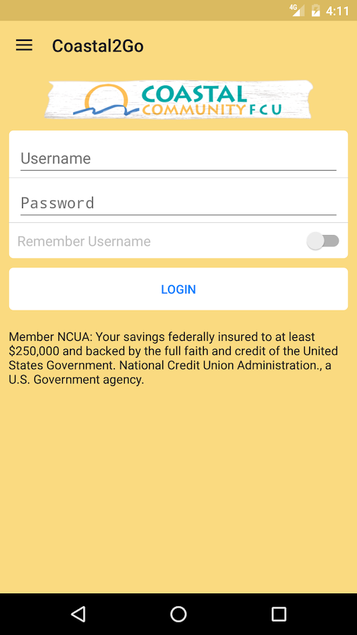Coastal Community FCU- screenshot