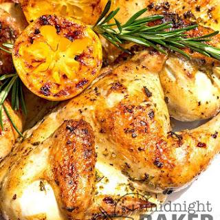 Rosemary Garlic Cornish Hens Recipe