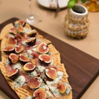 Fig, Prosciutto and Blue Cheese Pizza Recipe