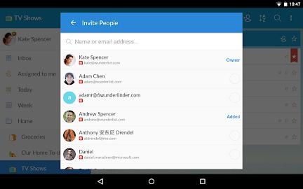 Wunderlist: To-Do List & Tasks Screenshot 15
