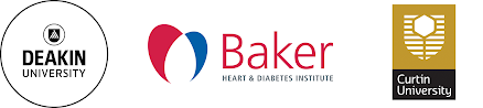 Deakin, Baker IDI, Curtin University