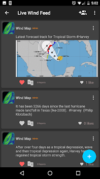 Wind Map 🌪 Hurricane Tracker (3D Globe and Alerts)
