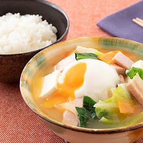 【地元グルメ】沖縄のみそ汁定食が激しく美味しそうな件 / 味の素「うちのみそ汁」応援プロジェクトで公開