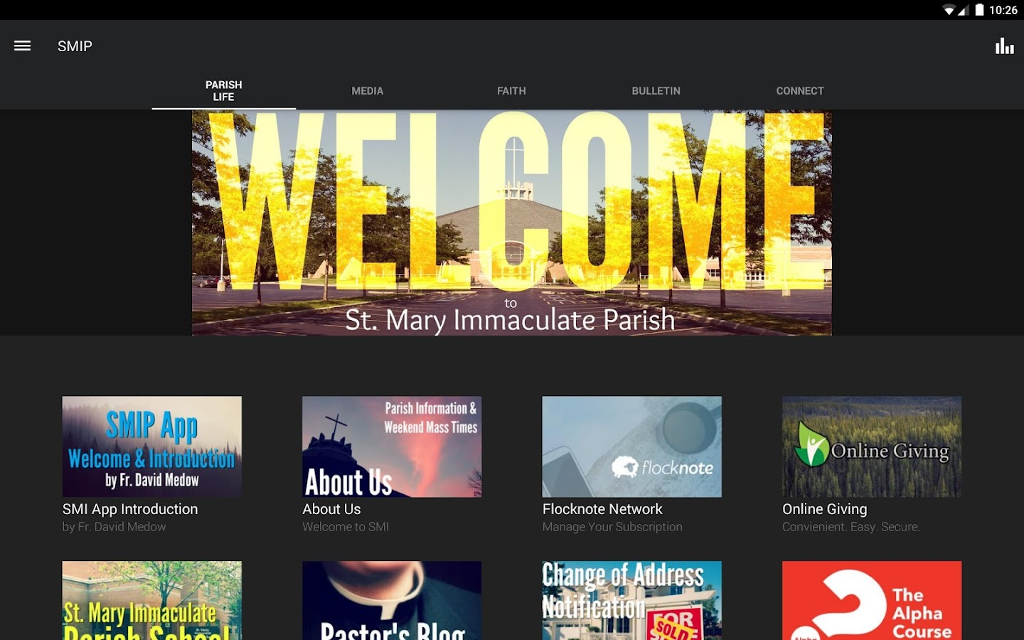 St. Mary Immaculate Parish- screenshot