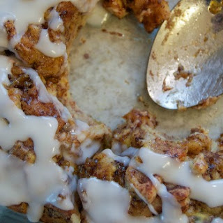 Cinnamon Roll Breakfast Casserole.