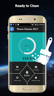 Phone Cleaner 2017-clean&boost screenshot