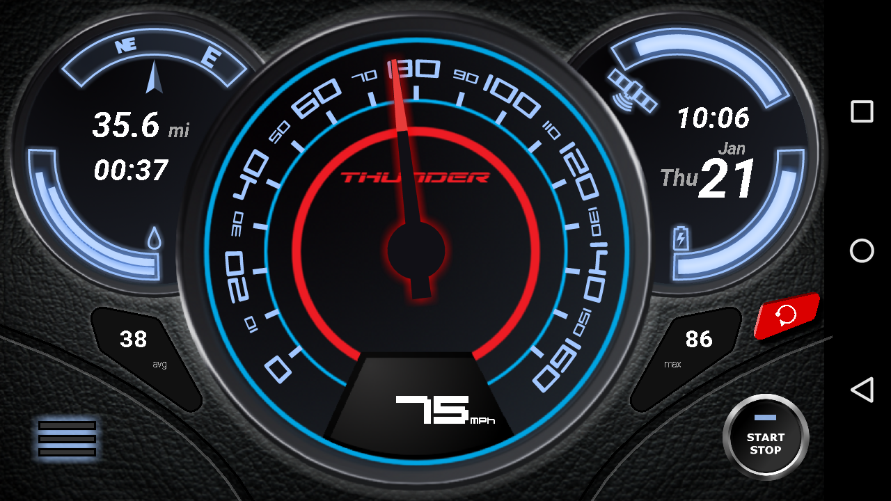 Gps Speedometer No Ads Android Apps On Google Play