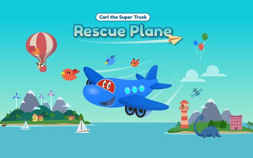Carl Super Jet:  Airplane Rescue Flying Game screenshots 9