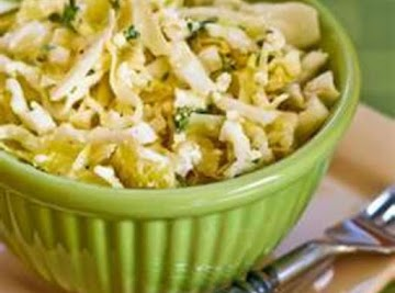 Greek Cabbage Salad Recipe
