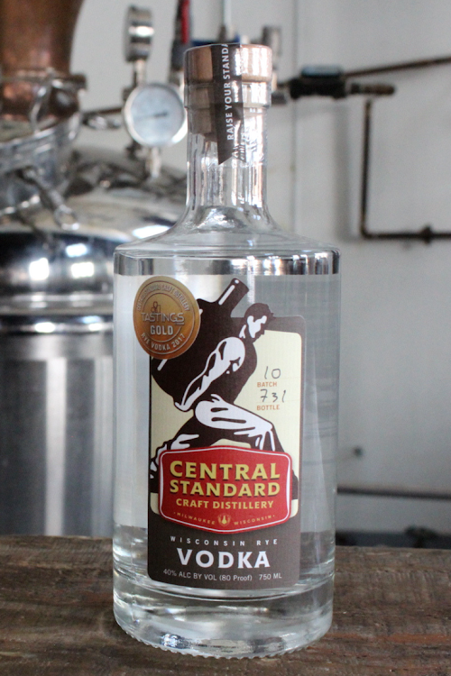 Logo for Central Standard Vodka