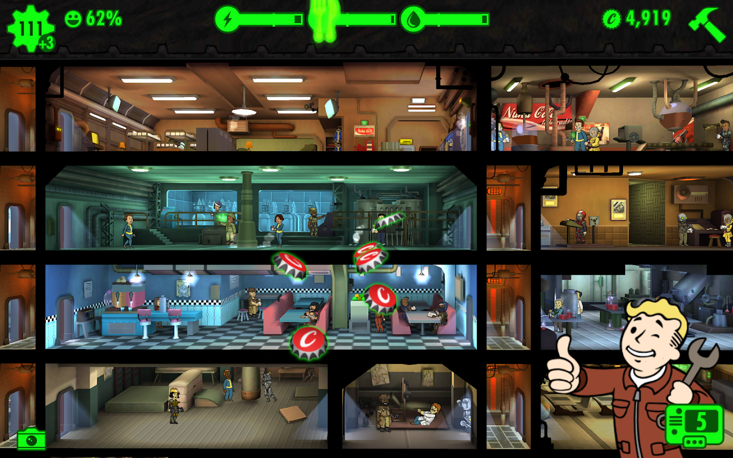 Fallout Shelter- screenshot