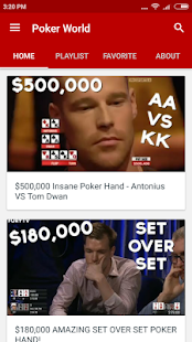 Poker World - náhled