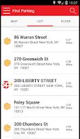 Screenshot of SP+ Parking