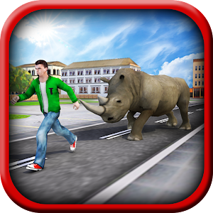 Crazy Rhino Attack 3D for PC and MAC