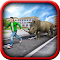Crazy Rhino Attack 3D 1.0 Apk