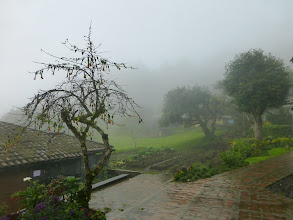 Photo: Second day: rain and fog