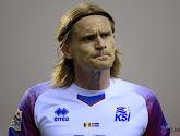 Ari Skulason, verdediger van IJsland en Lokeren, tekent voor één van de mooiste goals van de interlandbreak