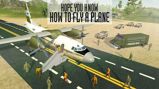 Army Criminals Transport Plane 3.3 screenshots 7