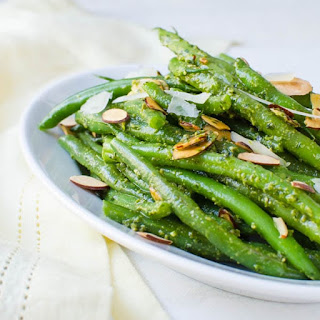 Spring Pesto Green Beans Recipe