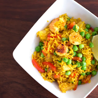Curried Shrimp Fried Rice