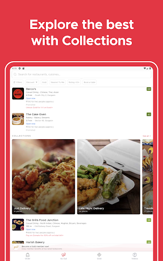 Zomato - Restaurant Finder and Food Delivery App screenshot 9