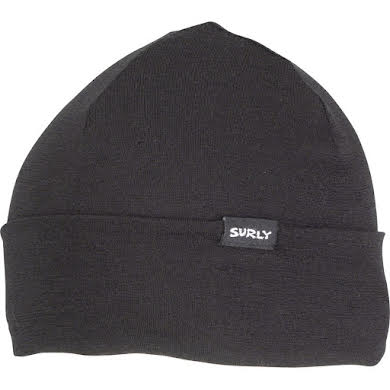 Surly Wool Beanie - Black, 150gm, One Size