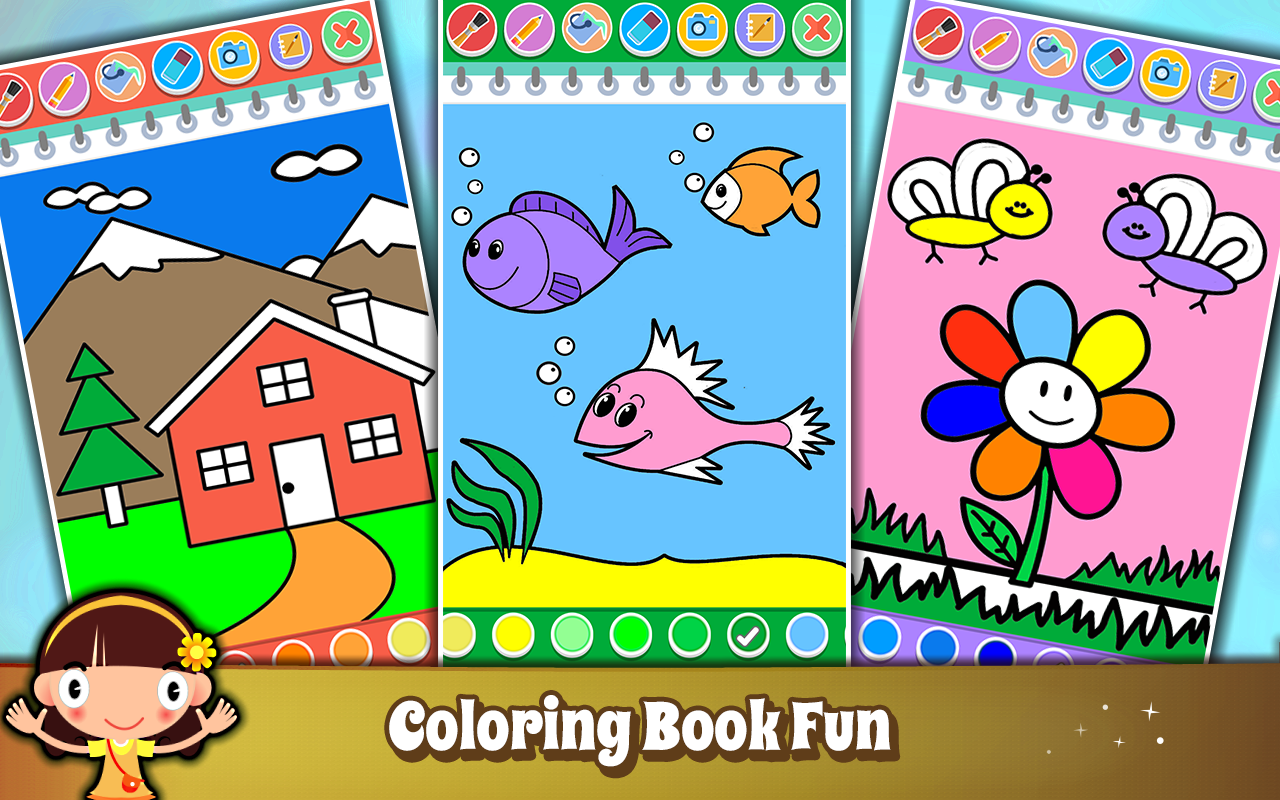 Toddler color learning games - Shapes Colors Learning Games For Kids Toddler Screenshot