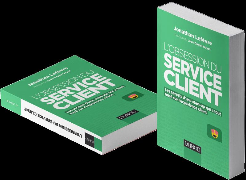 livres en marketing service client image