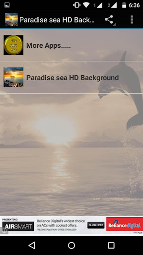 Paradise sea HD wallpapers