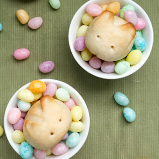 Rabbit Bunny Buns for Easter (Basic Soft Butter Rolls)
