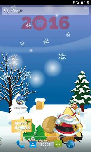 Funny Christmas Free LWP скачать на планшет Андроид