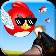 Angry Shooter Gun Camera && Thug Life Birds in AR APK for Ubuntu