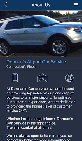 android Dorman's Airport Car Service Screenshot 1