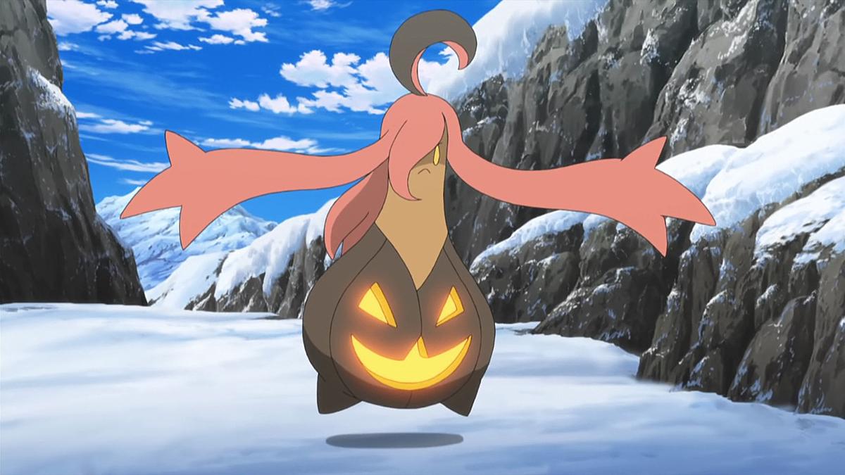 Jessie's Gourgeist - Bulbapedia, the community-driven Pokémon ...