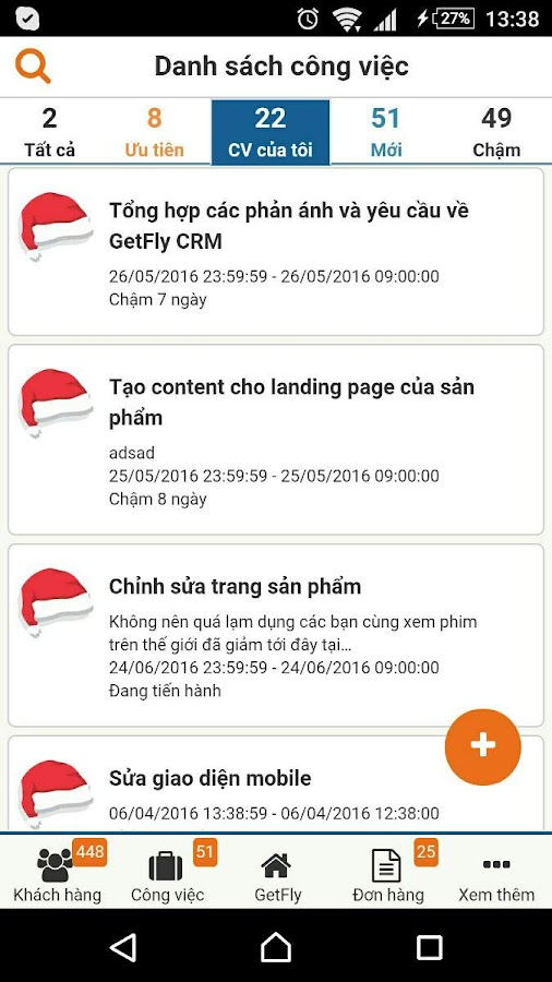 GetFly CRM- screenshot