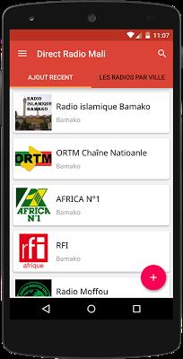 Direct Radio Mali - screenshot