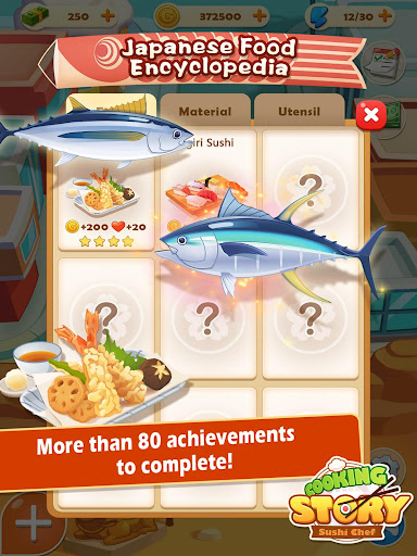 Sushi Master - Cooking story  captures d'u00e9cran 7