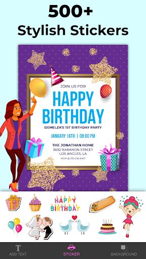 Invitation Maker Free, Paperless Card Creator android2mod screenshots 3