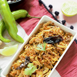 Cabbage Stir Fry-Cabbage Poriyal