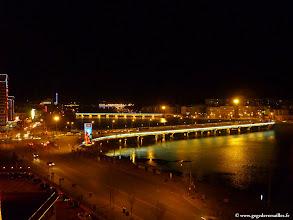 Photo: #017-Chengde, la nuit, vue de notre chambre de l'hôtel Yun Shan