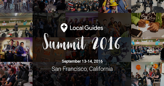Local Guides Summit 2016