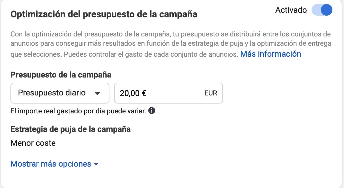 ¿Cuánto presupuesto necesitas para tu campaña de Facebook Ads?