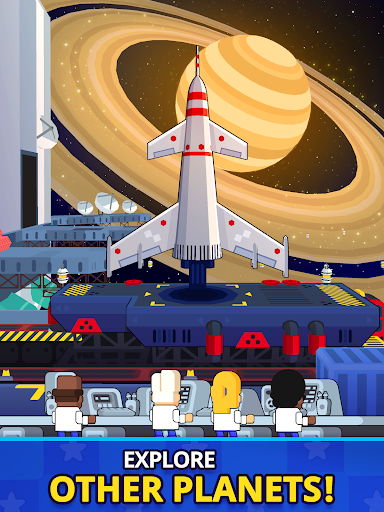 Rocket Star - Idle Space Factory Tycoon Game android2mod screenshots 11