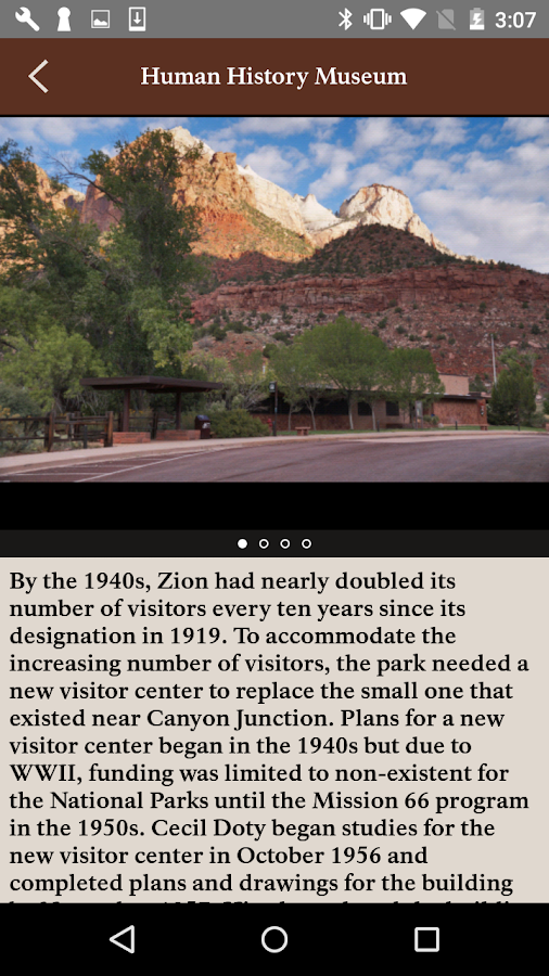 Tour of Zion- screenshot