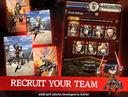 Hack Game Attack on Titan TACTICS apk free