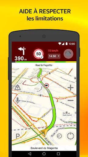 Yandex.Navi - Île-de-France screenshot 2